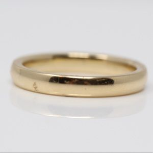 James Avery Jewelry - JAMES AVERY 14K Yellow Gold Forever Band Ring 6